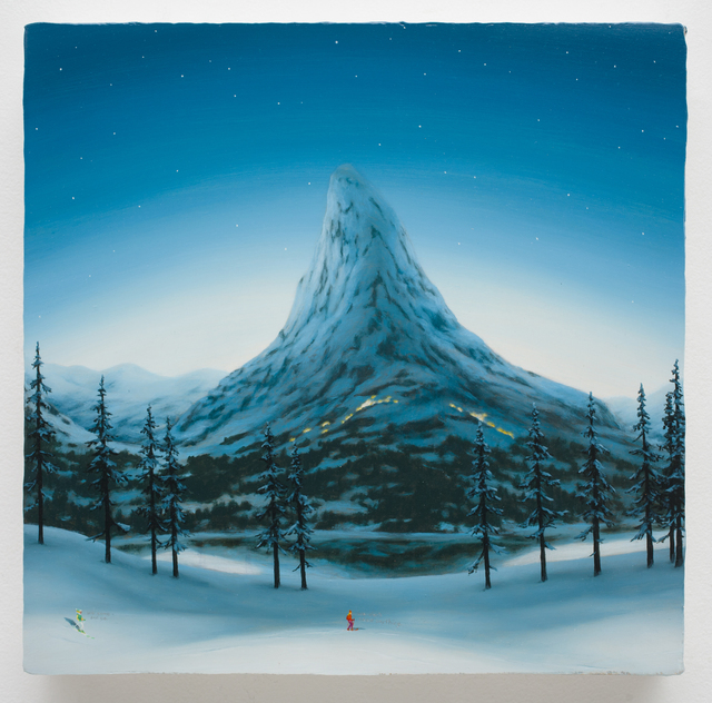 , 'MOUNTAINS WITH SKIERS 6,' 2015, Greg Kucera Gallery