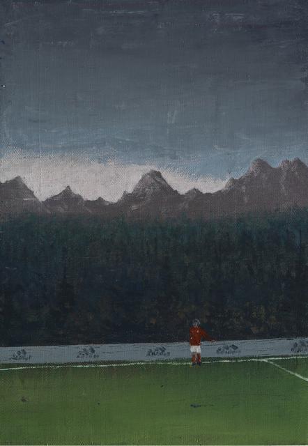 , 'Rotes Trikot,' 2017, GOLESTANI