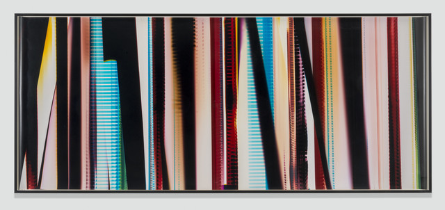 , 'RA4 Contact Print [Black Curl (CMY/Six Magnet: Los Angeles, California, December 19, 2013, Fuji Color Crystal Archive Super Type C, Em. No. 101-007, 44313), Kreonite KM IV 5225 RA4 Color Processor, Ser. No. 00092174],' 2015, Regen Projects