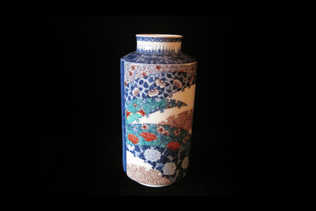, 'Vase with Flower Patterns,' 2014, Onishi Gallery