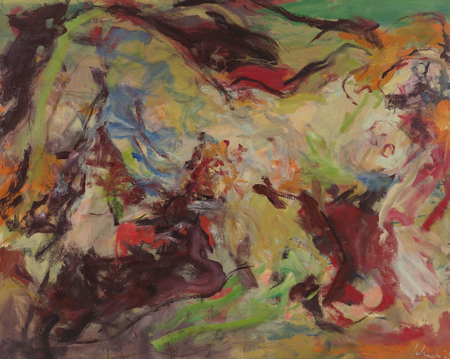 , 'Green Study (o/c 65-18),' 1965, Berry Campbell Gallery