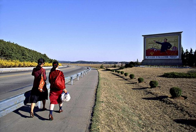 , 'Walkers, North Korea,' 1991, Wall Space Gallery