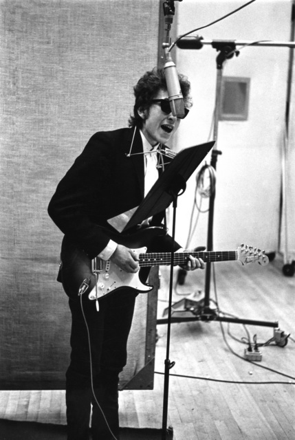 , 'Bob Dylan Recording Bringing It All Back Home, NYC,' 1965, TASCHEN