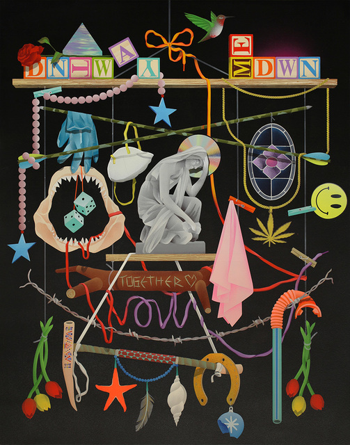 , 'DNT WAY ME DWN,' 2016, Hashimoto Contemporary