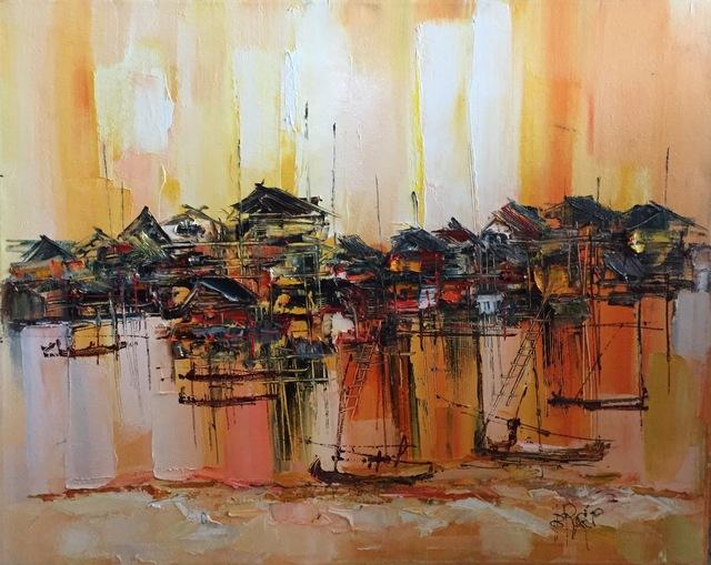 , 'Fisherman Village During Sunset,' 2015, BLINK Gallery