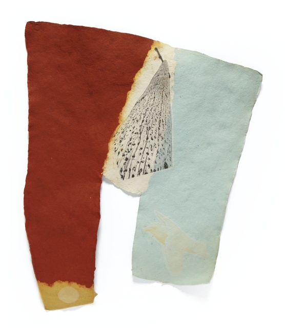 Robert Rauschenberg, 'Link (Gemini 41.82)', 1974, Print, Handmade pigmented paper multiple with screenprint in colors on Japanese tissue laminated to paper pulp, Sotheby's