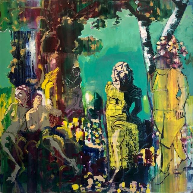 """, '""""Garden of Earthly Delights"""",' 2018, Adah Rose Gallery"""