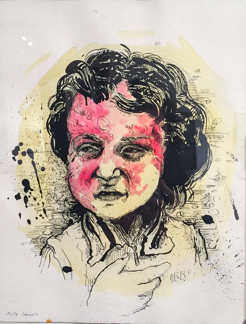 Molly Crabapple, 'Syrian Girl Scarred by Barrel Bomb', 2014, Postmasters Gallery