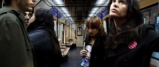 Pablo Zuleta Zahr, 'Madrid Subway Line 7', 2007, Photography, Acrylic, c-print, DiBond, Richard Levy Gallery