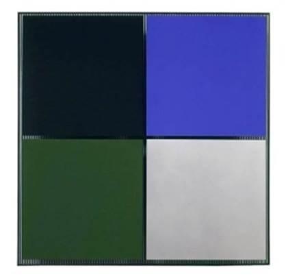 , '4 con Plata,' 1976, Galería Cayón