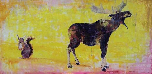 , 'Bullwinkle Tribute,' , Sirona Fine Art