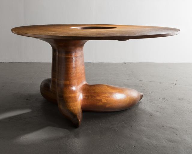 , 'Unique Oak Dining Table,' 1969, R & Company