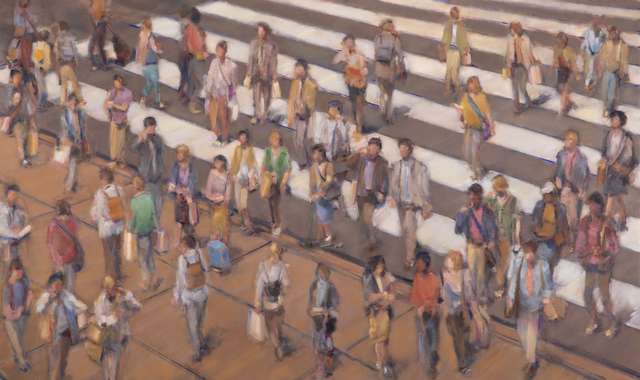 , 'Crosswalk II,' 2019, Maybaum Gallery