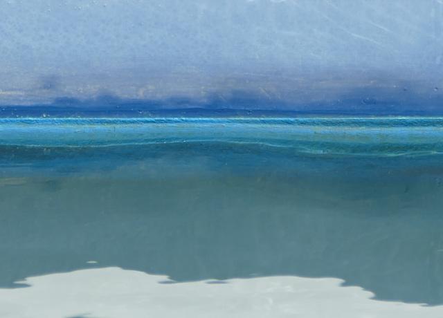 , 'Vintage Marina/ Soft Blue Line,' 2018, Dab Art