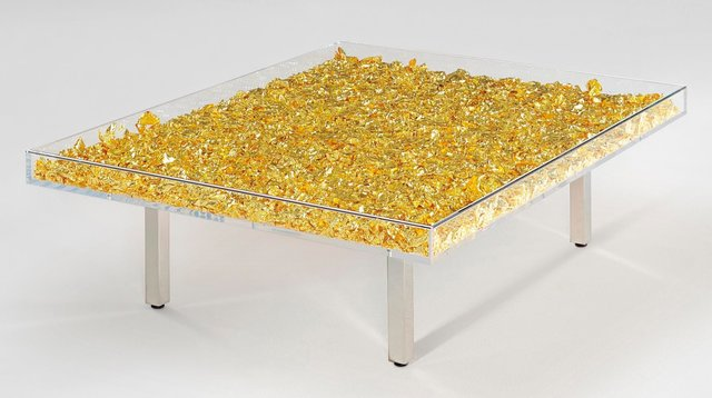 Yves Klein, 'Table d'Or (Golden Table)', 1963, Heritage Auctions