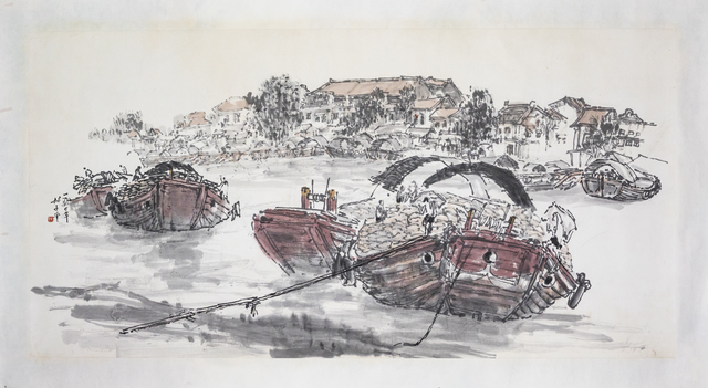 , 'Trade at the Singapore River,' 1970s-1990s, Ode to Art