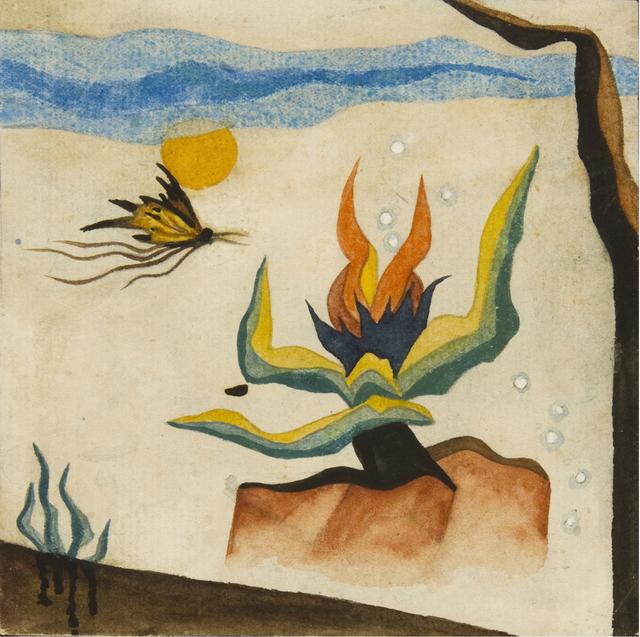 , 'Planta bicho,' ca. 1919, Galería Rubbers Internacional