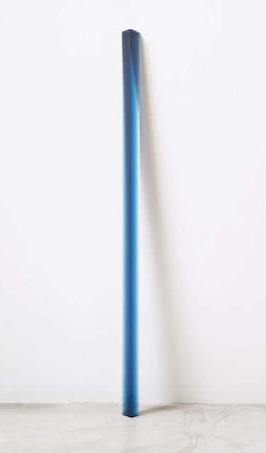 , 'Royal Blue Leaner,' 2015, McClain Gallery