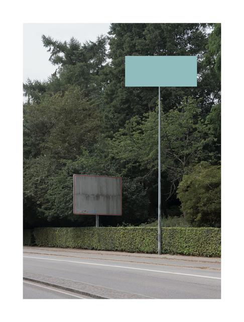 , 'Road Sign,' 2018, Hans Alf Gallery