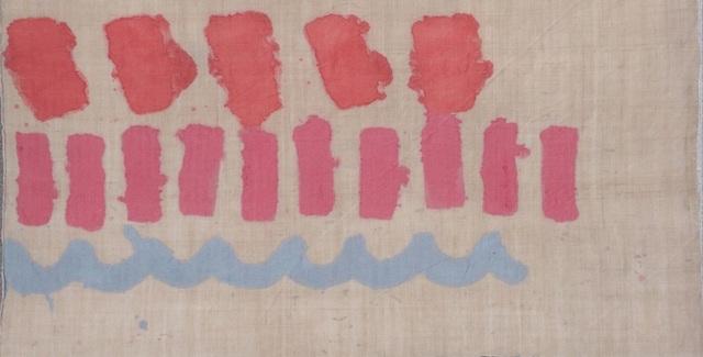 Giorgio Griffa, 'Tre Segni', 1979, Wallector