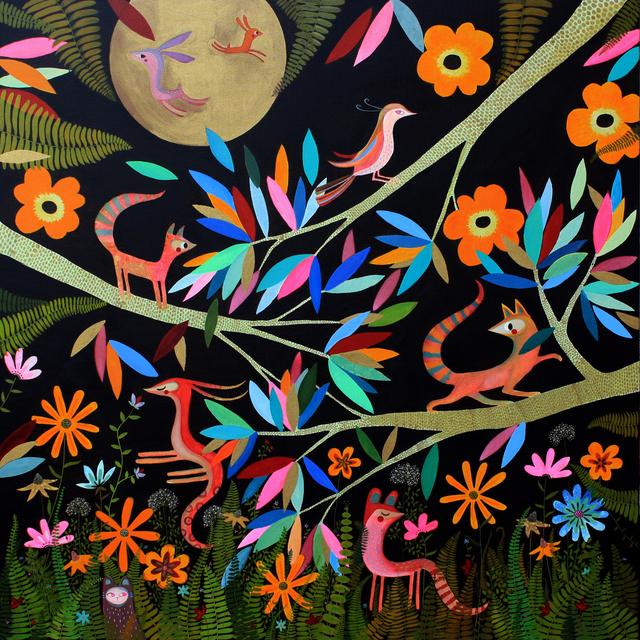 , 'Tropical Ubuntu,' 2014, Barnadas Huang