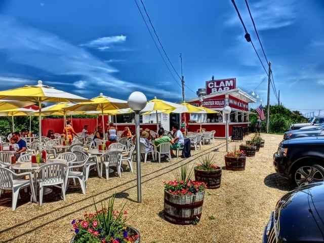 , 'Clam Bar with Umbrellas,' 2012, Madelyn Jordon Fine Art