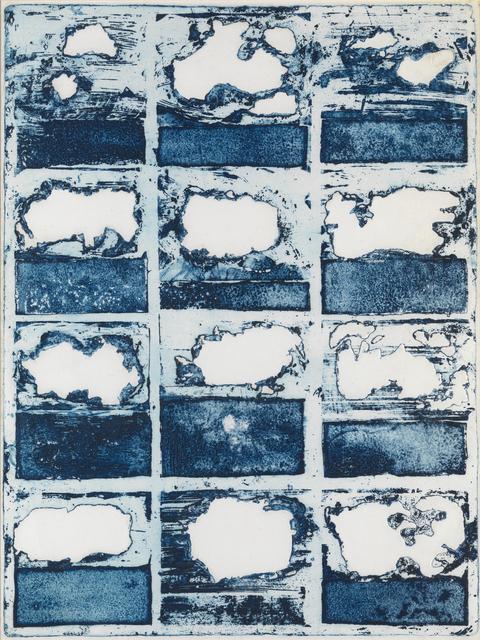 William Tillyer, 'Twelve Clouds', 1968, Bernard Jacobson Gallery