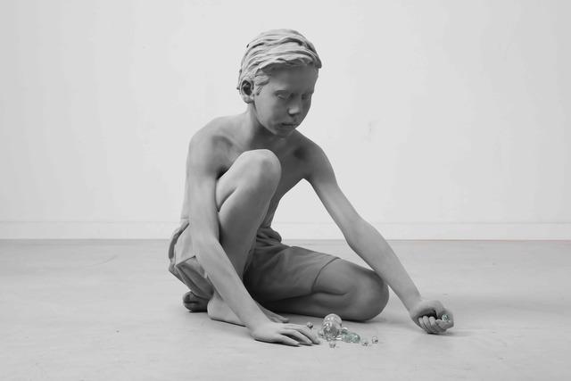 Hans Op de Beeck, 'Timo (Marbles)', 2018, Galerie Ron Mandos