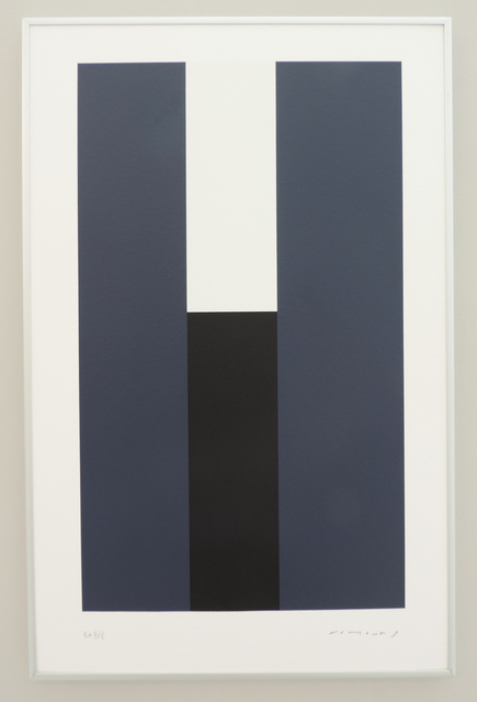 Aurelie Nemours, 'Virtuel III ', 1989-1997, Print, Serigraphie, Galerie La Ligne