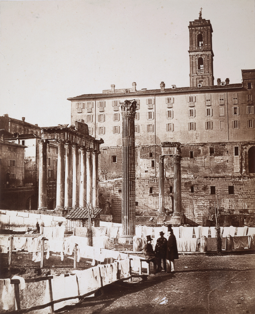 , 'The Roman Forum,' 1857, Hans P Kraus Jr. Fine Photographs