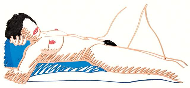 , 'Monica Lying on Her Back,' 1985-1997, Andipa