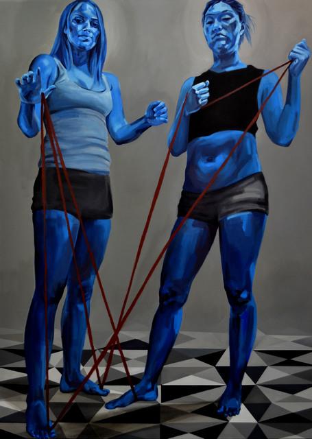 , 'Blue Twins,' 2017, CuratorLove
