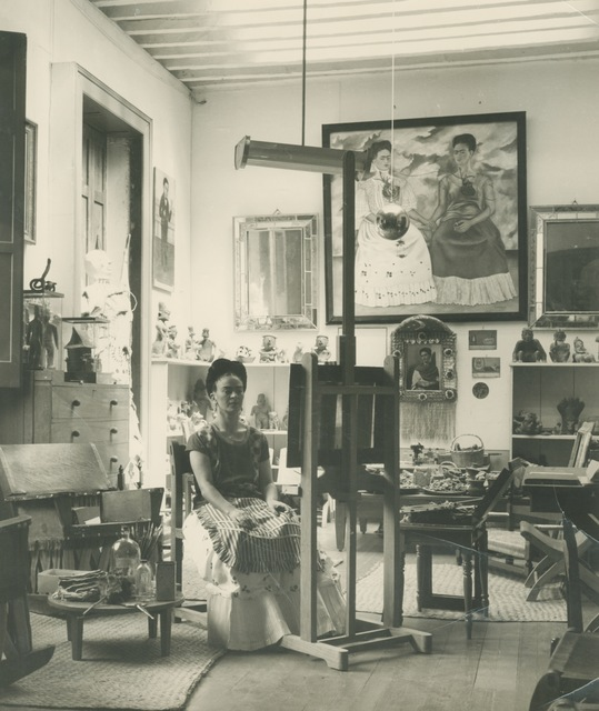 Fritz Henle, 'Frida In Her Studio', 1943, Matthew Liu Fine Arts