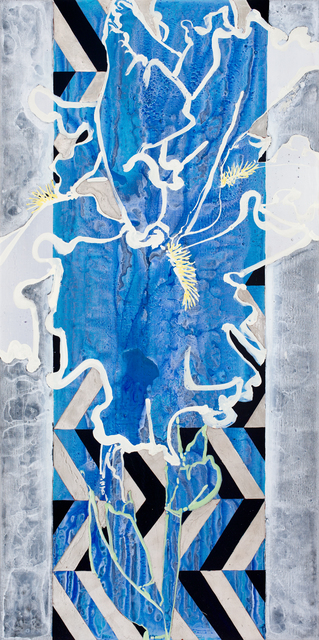 , 'White Iris,' 2017, DC Moore Gallery