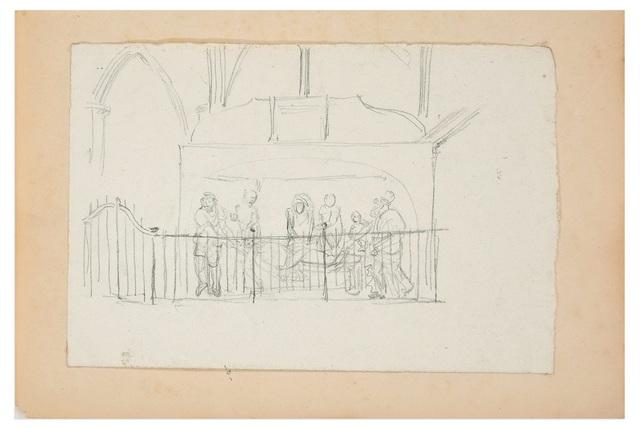 Lucien Alphonse Gros, 'Transport of Dead Christ', End XIX century, Wallector
