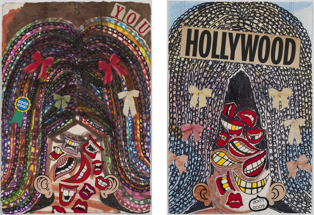 , 'Meltdown On Paper (YOU And Hollywood),' 2014, Linda Warren Projects