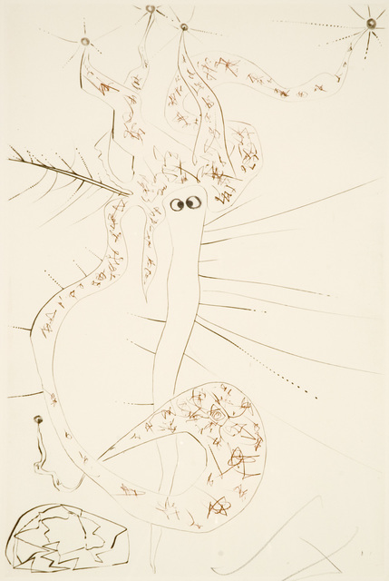 , 'Mad Tristan (Tristan and Iseult, Plate S),' 1970, Martin Lawrence Galleries