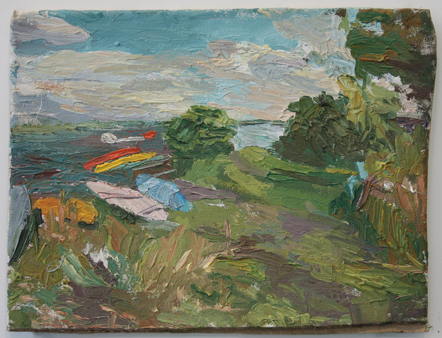 , 'Afternoon Study of Boats,' , Betty Cuningham