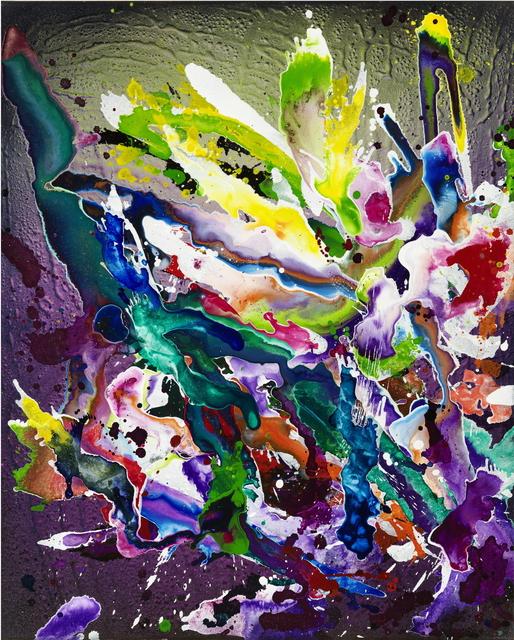 , 'abstract V,' 2017, Ludorff