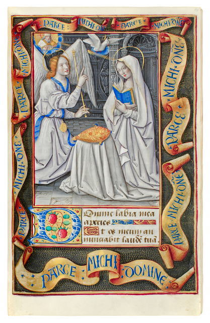 , 'Book of Hours, use of Rome,' 1490-1504, Dr. Jörn Günther Rare Books