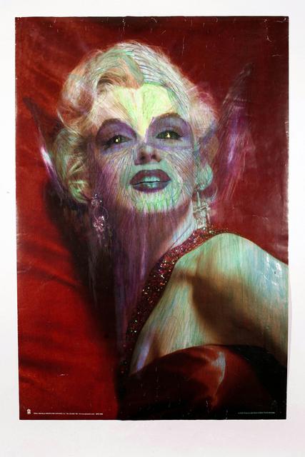 , 'untitled (marilyn monroe),' 2013, christian berst art brut