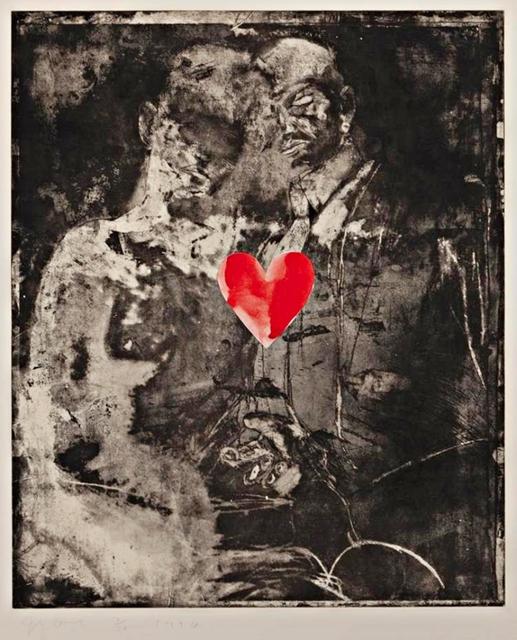 , 'Two Figures Linked by Pre-Verbal Feelings,' 1976, Alpha 137 Gallery