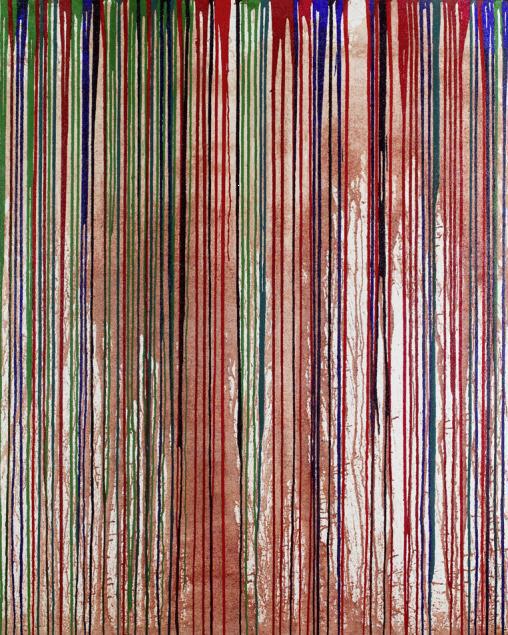 Hermann Nitsch, 'Schüttbild', 2009, Galerie Elisabeth & Klaus Thoman