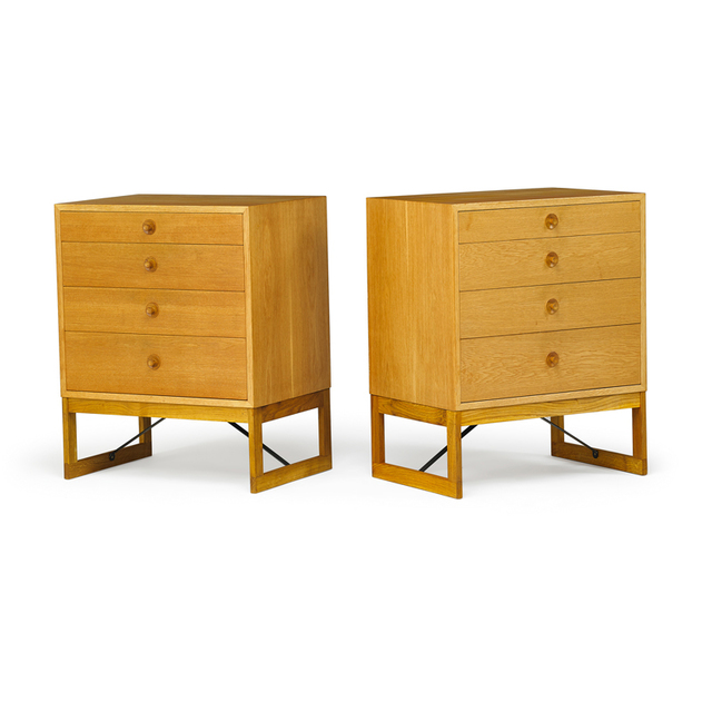 Börge Mogensen, 'Pair of dressers, Sweden', 1950s, Rago/Wright