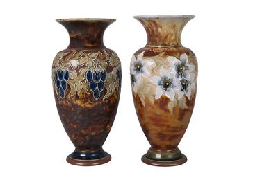 a stoneware vase by Eliza Simmance