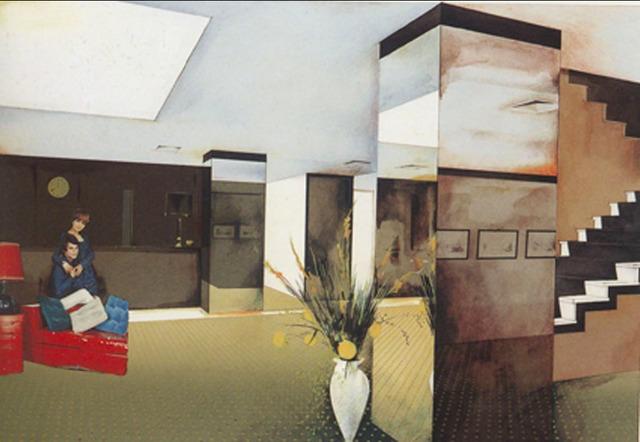 Richard Hamilton, 'Lobby', 1984, James Barron Art