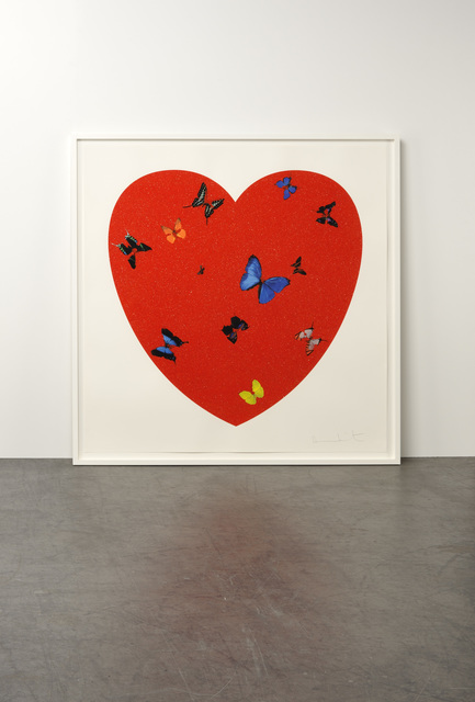 Damien Hirst, 'All you need is Love, Love, Love', 2009, Weng Contemporary