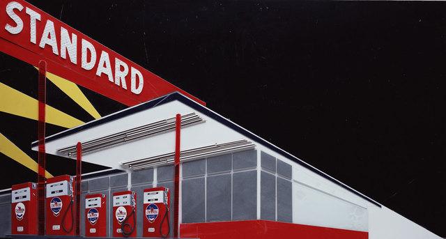 Vik Muniz, 'Standard Station (Night)', 2008, IKON Ltd. Contemporary Art