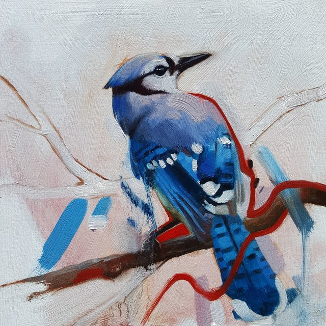 , 'Blue Jay,' 2017, Abend Gallery