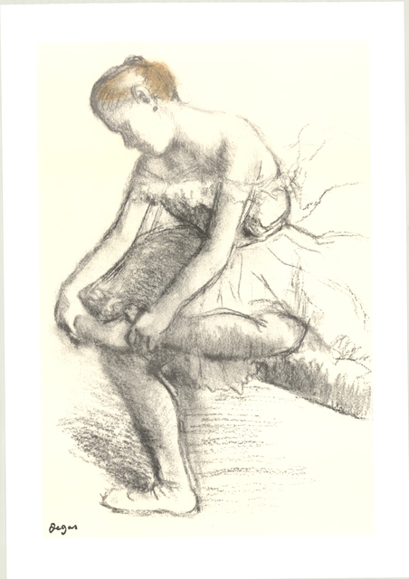 , 'Dancer Seated,' 1998, ArtWise